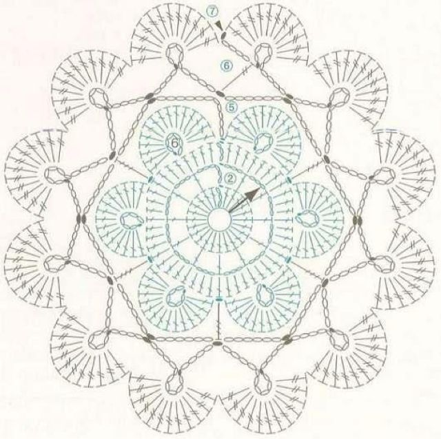 Angels Cradle: Crochet shell motif | Crochet | Pinterest