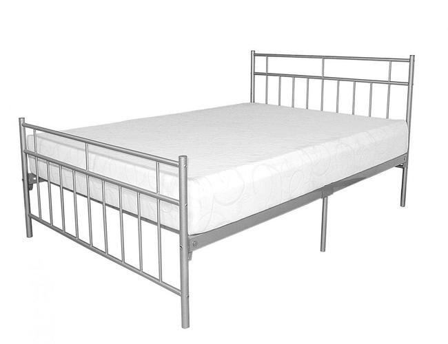 Davina Metal Bed 4 Foot Silver Beds Pinterest Metal Beds Bed