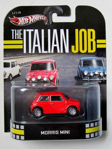 Hot Wheels The Italian Job Morris Mini Hot Wheels Retro