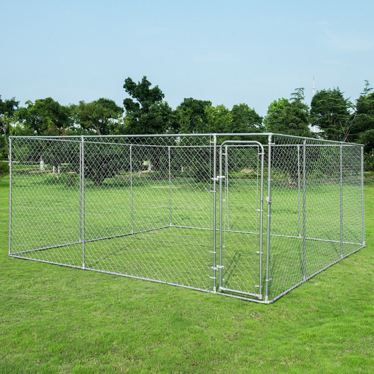 15 X 15 Large Pet Dog Run House Kennel Shade Cage Dog Kennel Outdoor Outdoor Dog Large Dog Cage