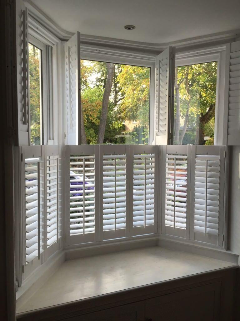 Eyebrow window coverings  bay window shutters shuttersouth  windows  pinterest  window bay