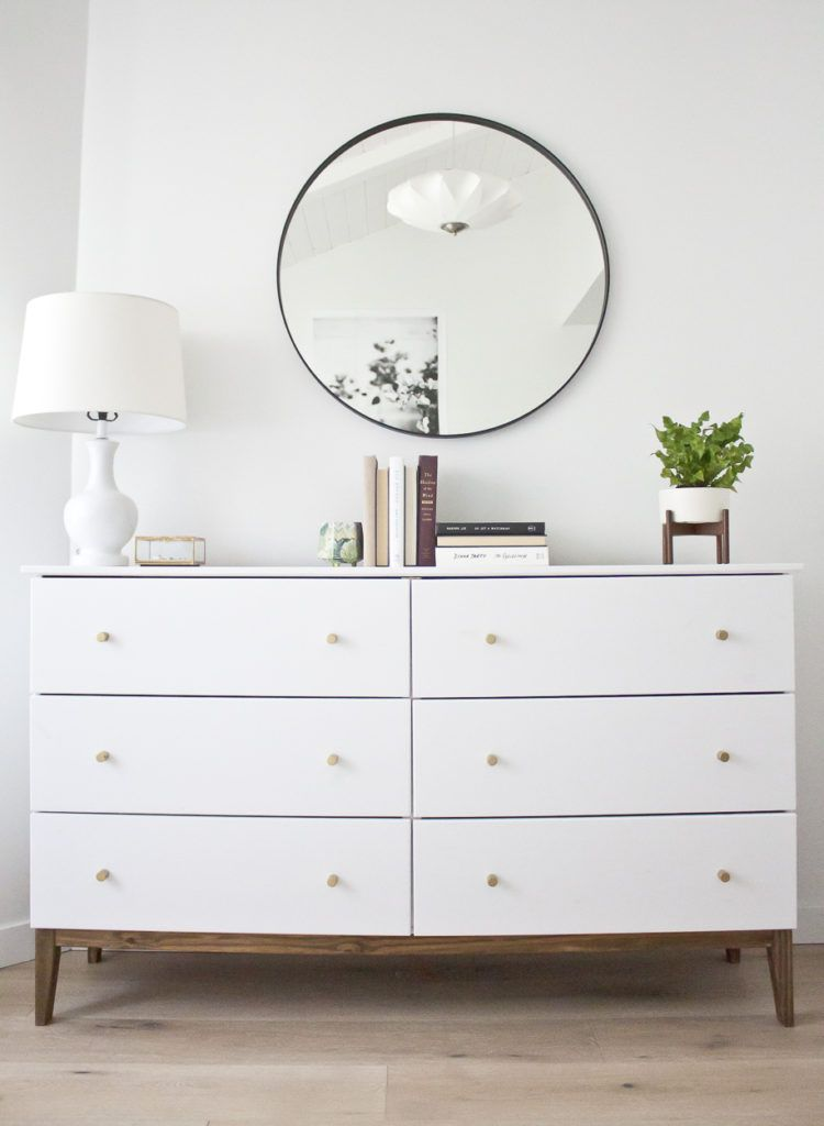 A West Elm Inspired Ikea Hack Simple Way To Transform An Dresser Into Gorgeous Mid Century Modern Beauty