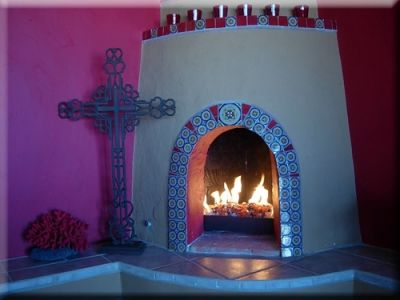 Mexican Style Fireplaces | traditional mexican style fireplace ...