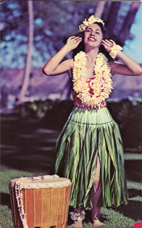 Good Hawaiian hula girls are certainly