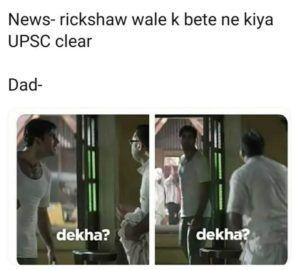 Rickshawala's Son Clears UPSC