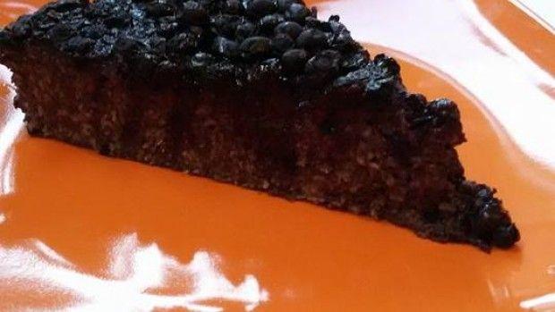 Hrníčkový fitness ovesný dort