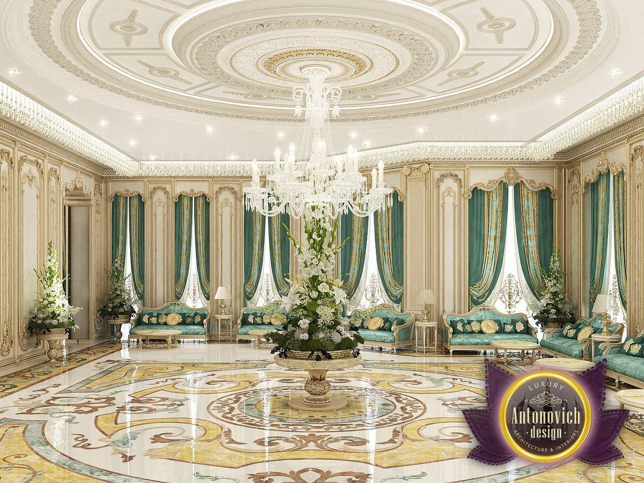 Luxury antonovich design majlis interiors from katrina - Interior design courses in dubai ...