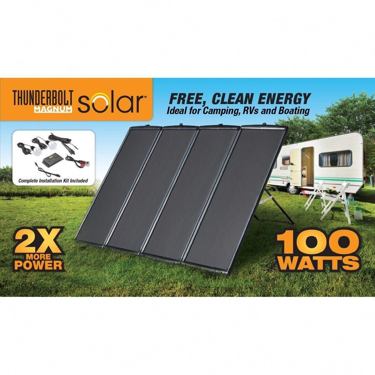 100 Watt Solar Panel Kit In 2020 Best Solar Panels Solar Heating Solar