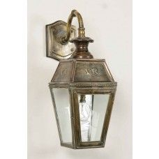 Outdoor Wall Lantern Solid Br