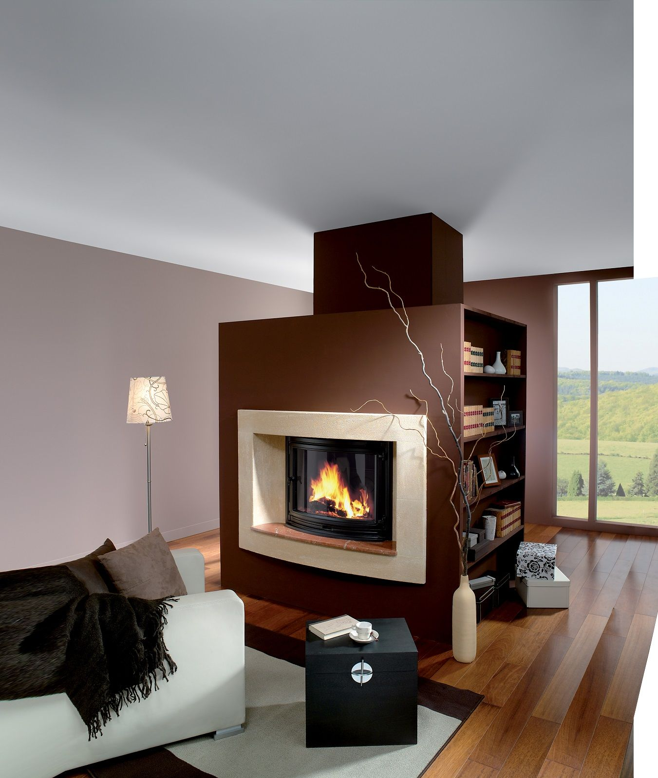 18 Fireplace Insert The Jotul I 18 Panorama Is A Large Insert Wood Burning Stove In A