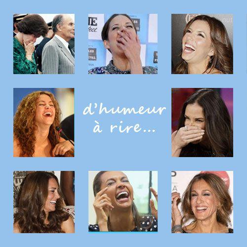 Aujourd'hui, l'équipe de www.pausecosmetique.com est d'humeur fou-rire !