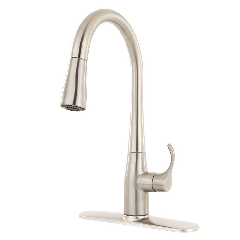 Kohler Simplice Single Handle Pull Down Sprayer Kitchen Faucet In