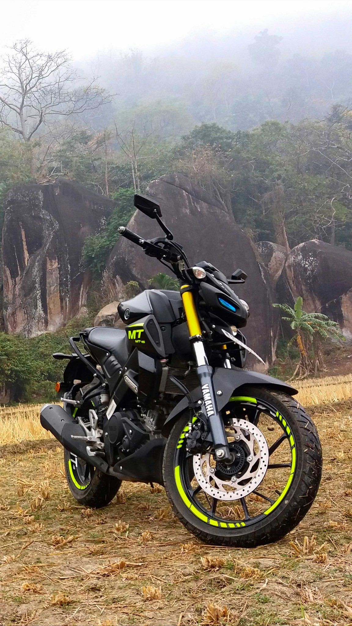 Yamaha Mt15 Winter Fog Mt 15 Yamaha Bike Pic