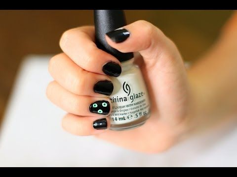 midnight eyeball nail art brooklyn
