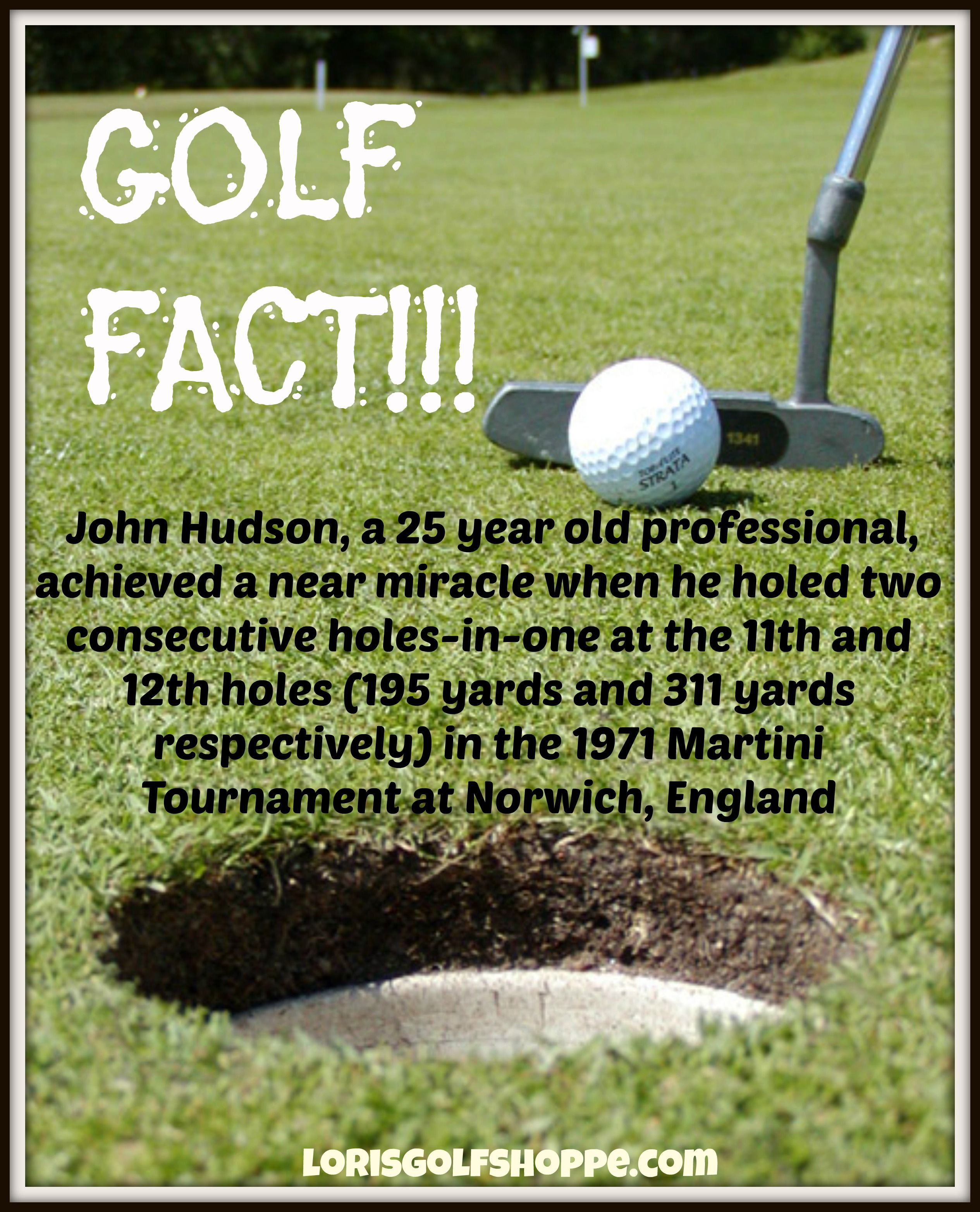 An Interesting Golf Fact For Today Beat This Golf History Lorisgolfshoppe Golf History Golf Golf Tour