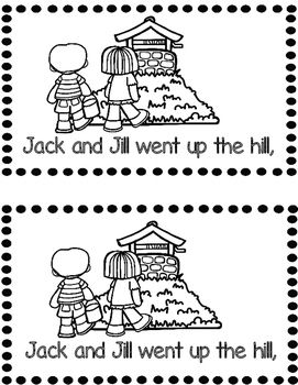 Jack and Jill Emergent Reader Distance Learning