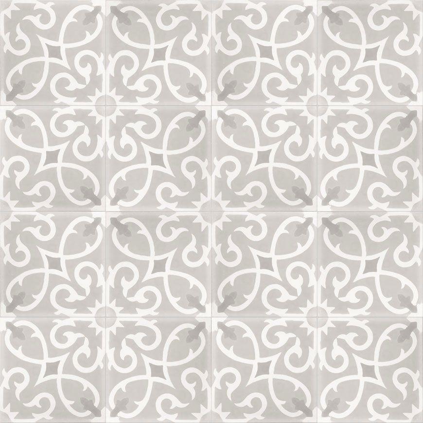 Moroccan Cement Tile Floor Master Suite Remodel セメント