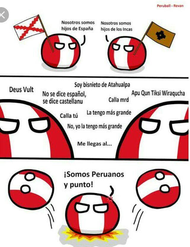 Cómics e imágenes de Perú – Peruanos: