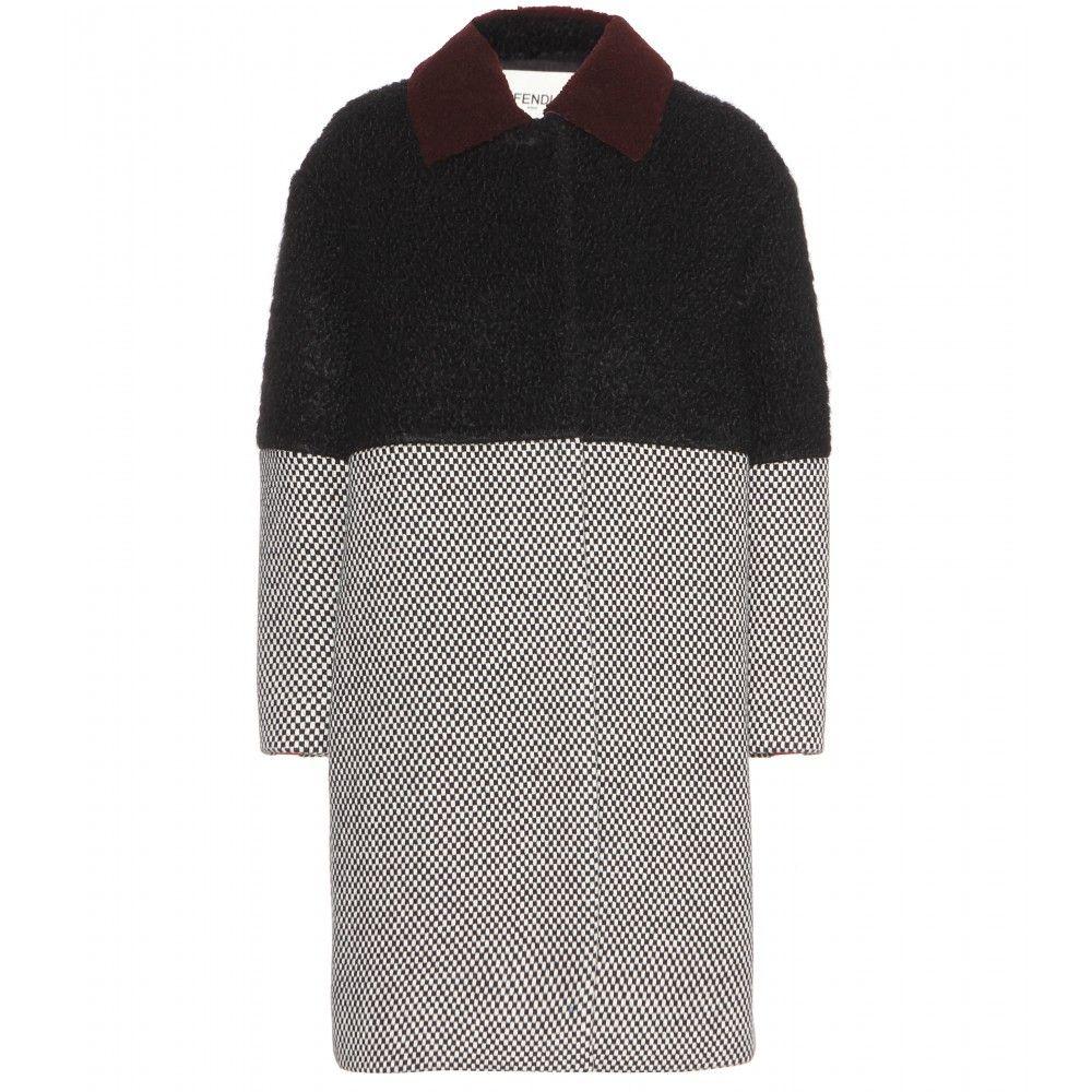 2897e4cfcf1f mytheresa.com - Wool coat - Coats - Clothing - Fendi - Luxury Fashion for  Women   Designer clothing