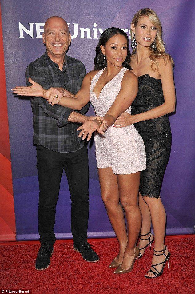 Heidi Klum & Mel B Go Glam for Americas Got Talent