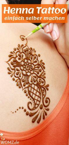 anleitung henna tattoo selber machen inkl mustermotive pinterest hennas - Henna Tattoo Muster