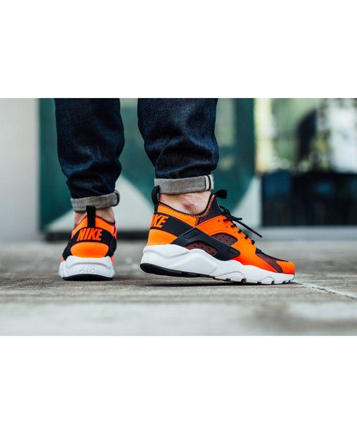 Nike Air Huarache Run Ultra Orange Crimson Trainer | Nike
