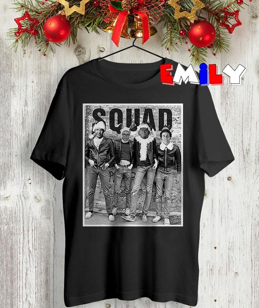 Squad Clark Griswold ELF and Ralphie Grinch tshirt