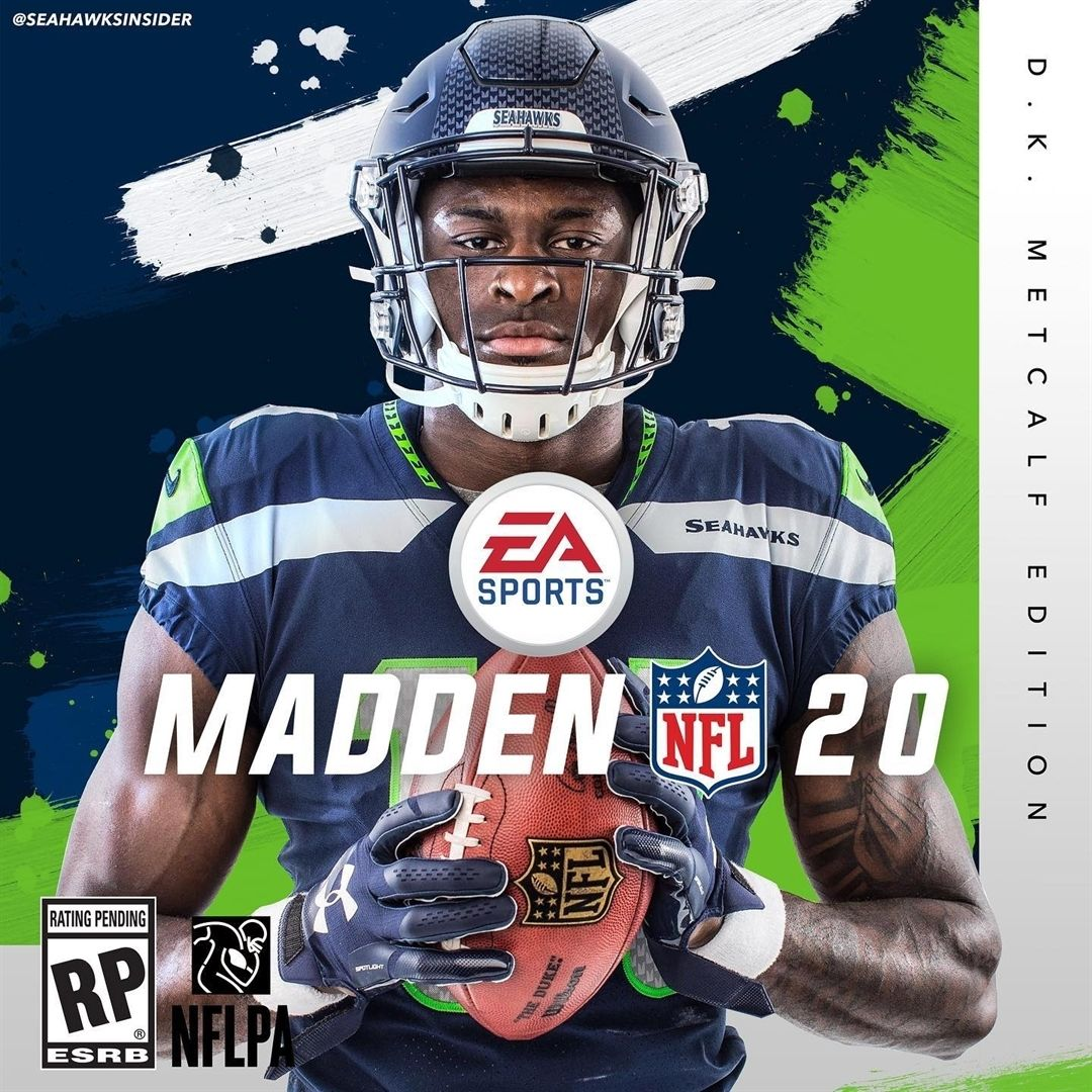 D K Metcalf Madden 20 Cover Would You Guys Buy This Dk Metcalf14 Gohawks Seahawks Seahawks Football American Football Players
