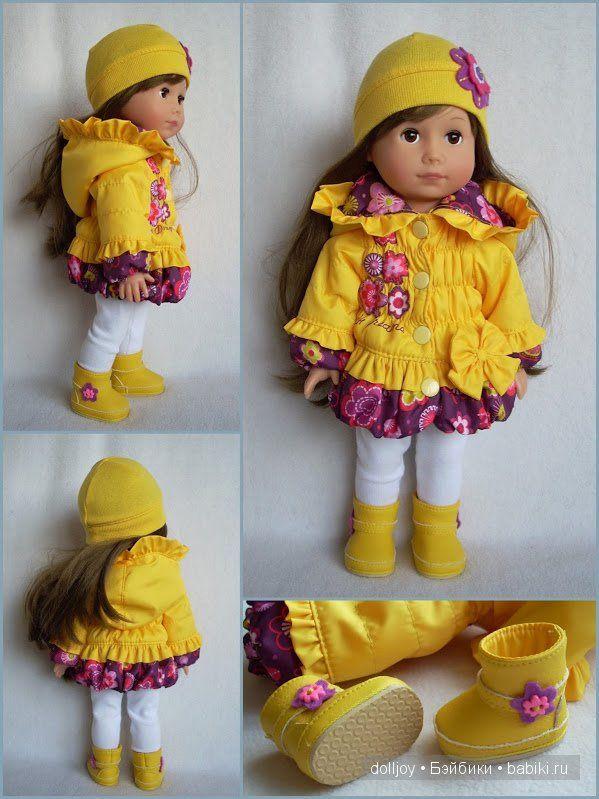 одежда для кукол Gotz, GOTZ, Готц, выкройки одежды для кукол, одежда ...