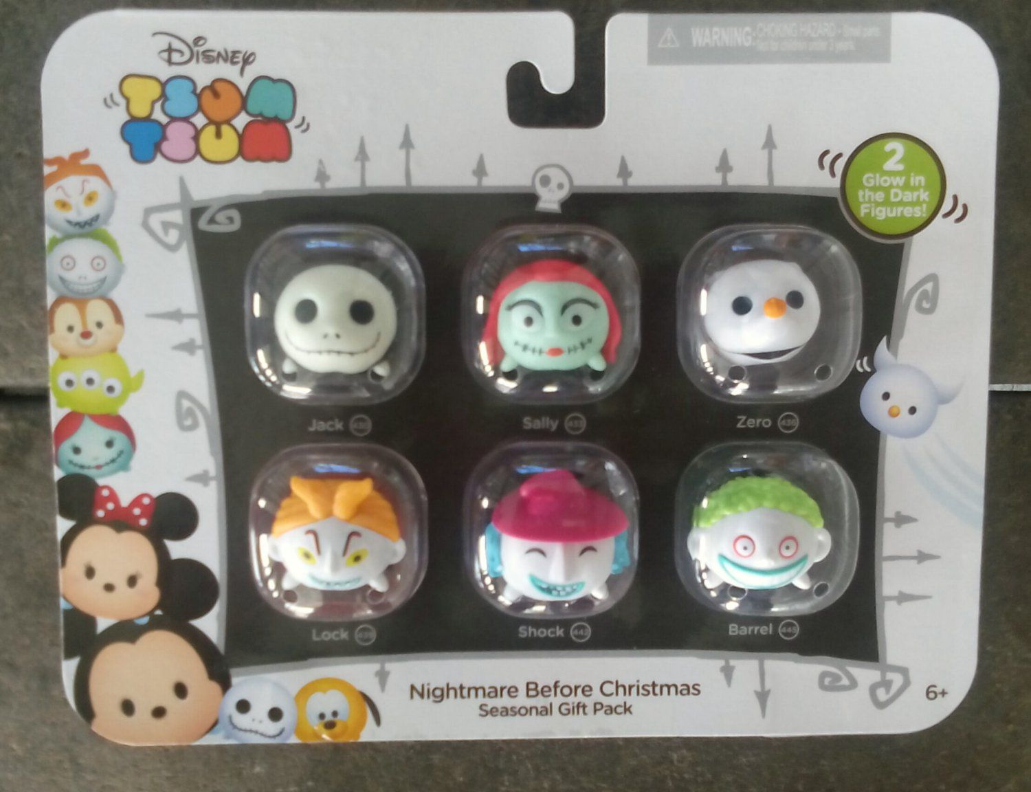 Jack skellington bathroom set - Disney Tsum Tsum Nightmare Before Christmas Seasonal Gift Pack 09122 Walgreen S Exclusive By