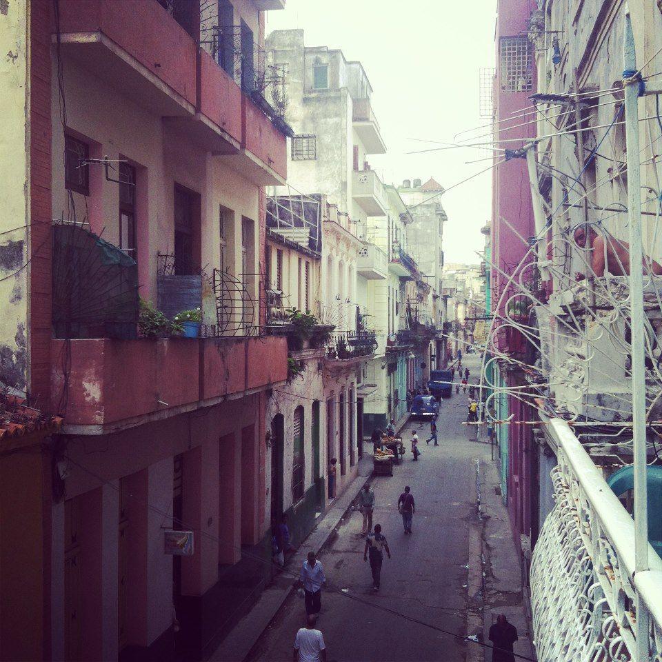 La Habana desde mi balcón.