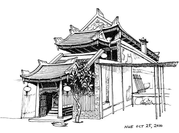 Chinese Architecture Sketch - Google U641cu7d22 | Chinese Architecture Sketch | Pinterest | Chinese ...