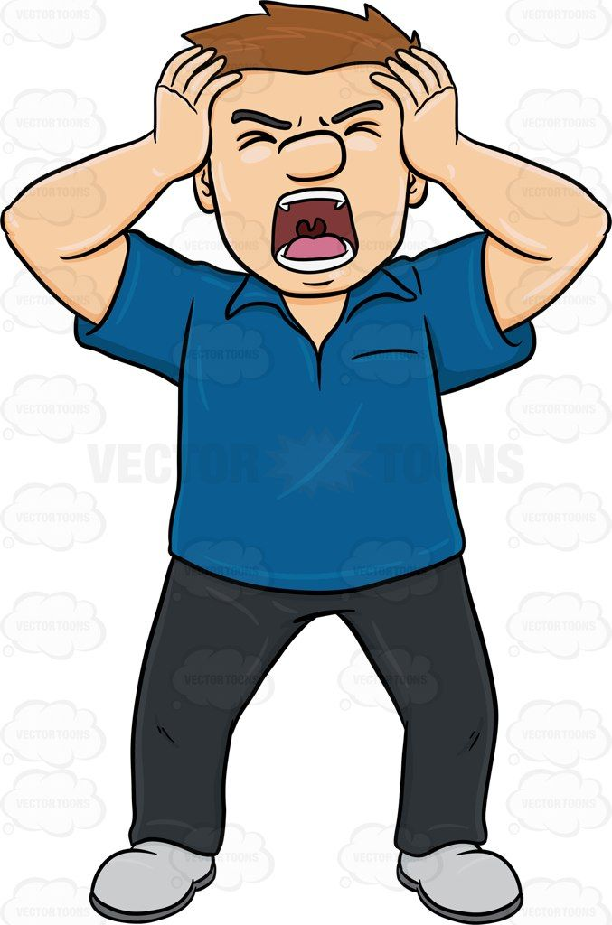 angry person cartoon - photo #13