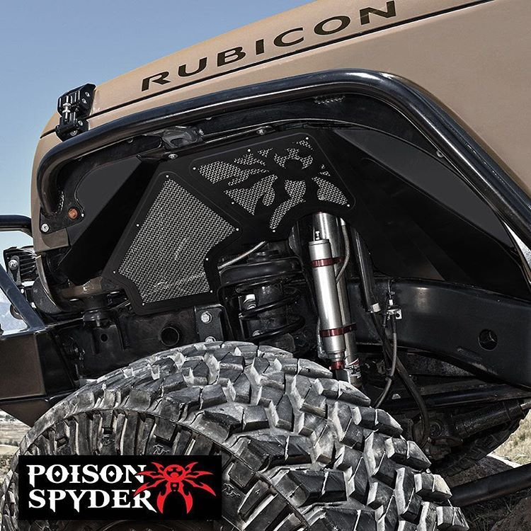 Poison Spyder Jk Vented Inner Fenders Are Now Available In