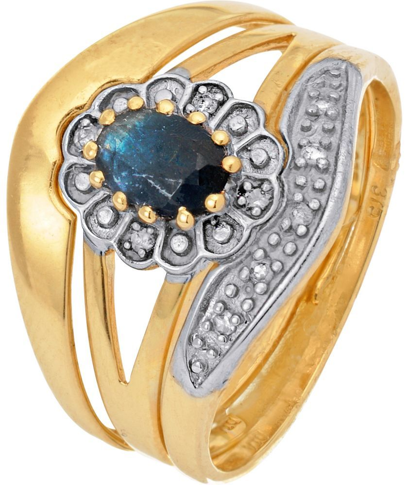 Buy 9ct Gold Sapphire and Diamond Bridal Set at Argos.co