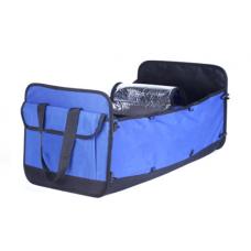 Car trunk organiser car styling car accessories sorting box folding blue car trunk storage bag cooler bag accessories bag