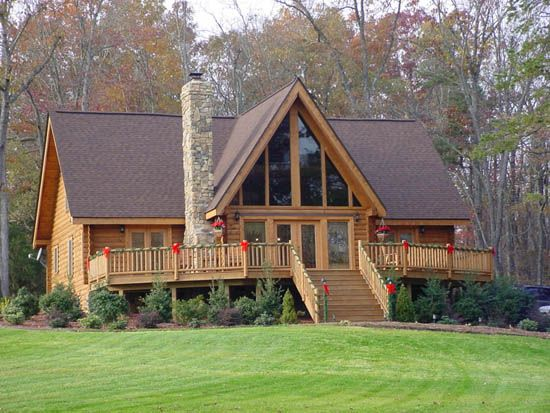 country log homes - google search | country living | pinterest