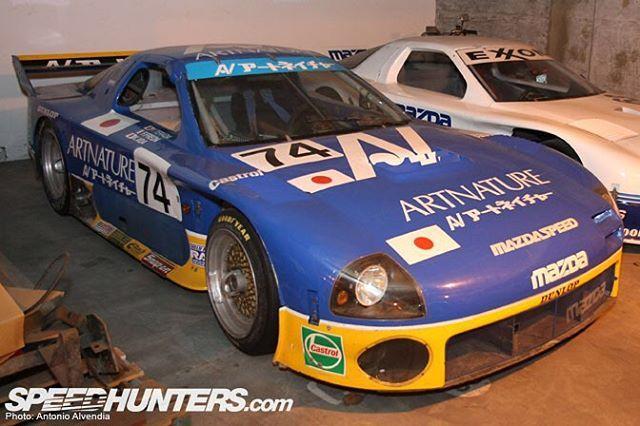 Motormavens Artnature Fc3s Mazda Rx7 Widebody Racecar Shot
