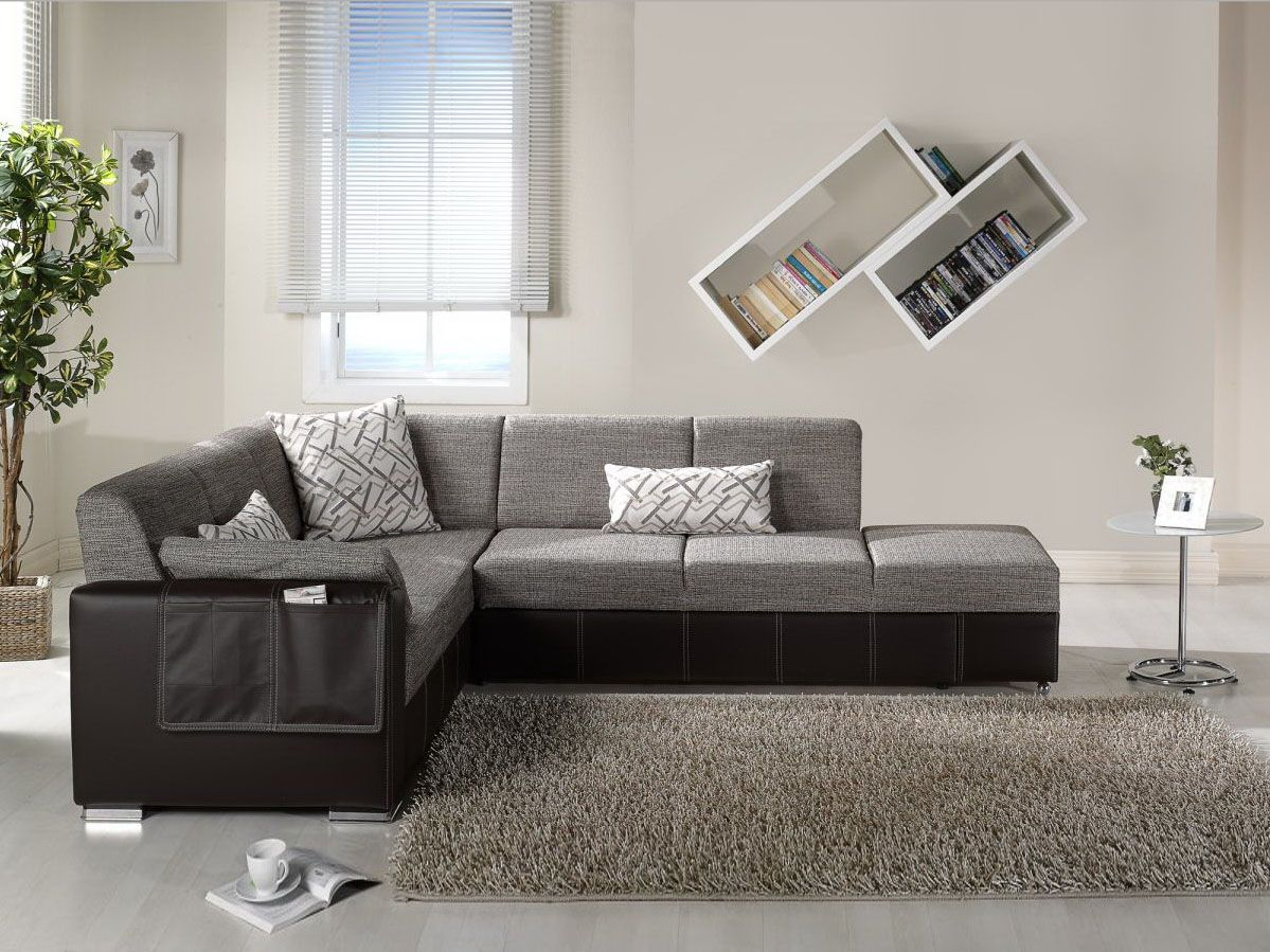 Best Modern Black And Gray Sectional L Shaped Sofa Design Ideas 400 x 300