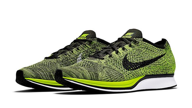 Another 'Volt' Nike Flyknit Racer