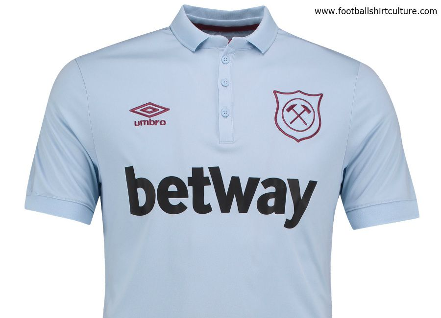 262cbcda81d West Ham United 17/18 Umbro Third Kit | 17/18 Kits | Football shirt blog