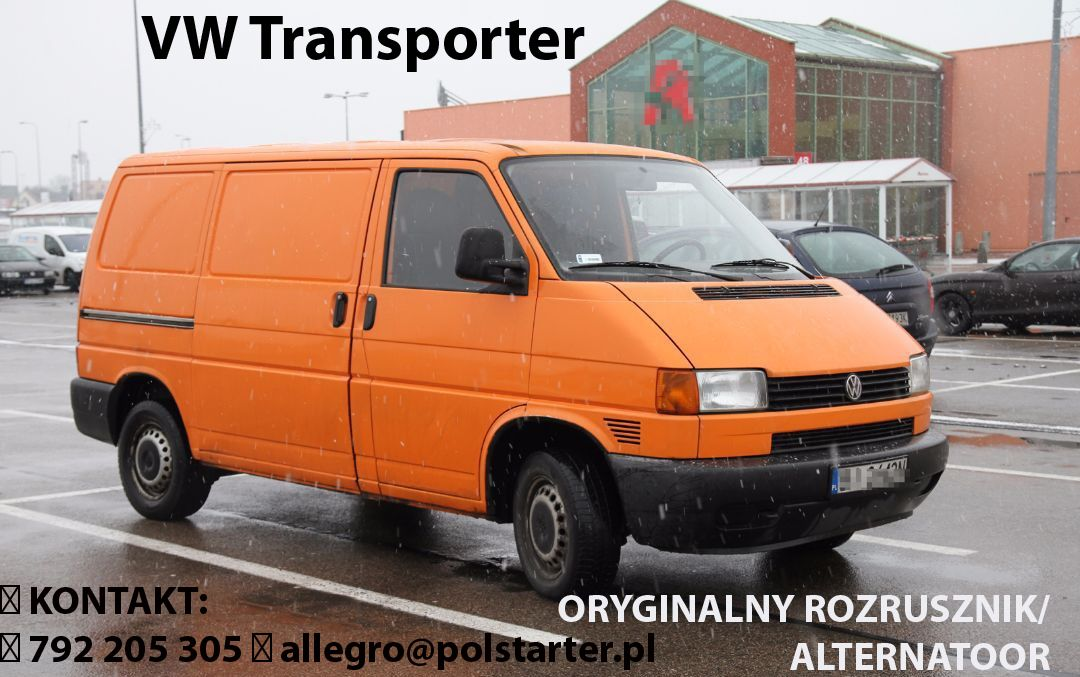 Rozrusznik Vw Transporter Zastosowanie R294 Transporter 2 0 At 1990 2003 Bezposredni Link Do Aukcji Http Allegro Pl Volkswagen Van Alternator