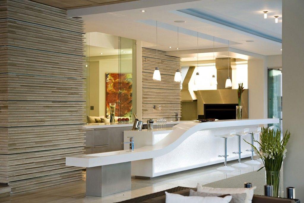 Simple Modern Open Plan Glass House Design With Modern Glass Summer