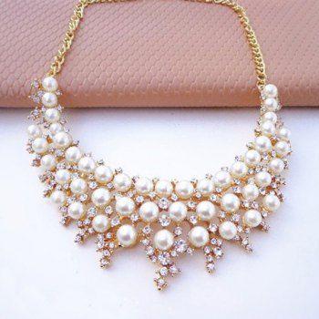 3d2ba37c34d3 Lindo Perla Cristal Laminado collar para las mujeres para Vender - La Tienda  En Online IGOGO.ES