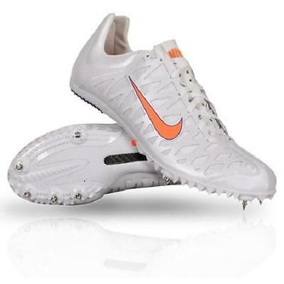 more photos 4a4db 43c34 ... Track and Field 106981 Nike Zoom Maxcat 3 Track Running Spikes Shoes  Mens 9.5 White . ...