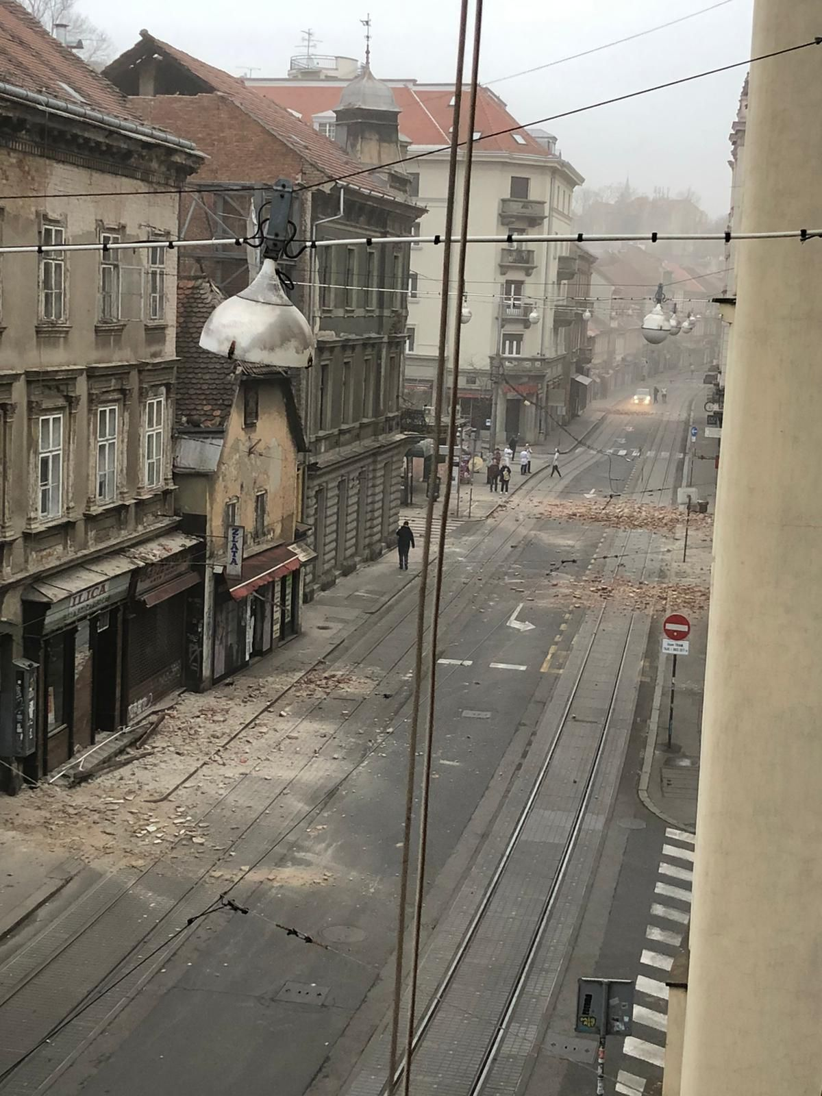 City Of Zagreb After Earthquake This Morning Zagreb Best Funny Photos Earthquake