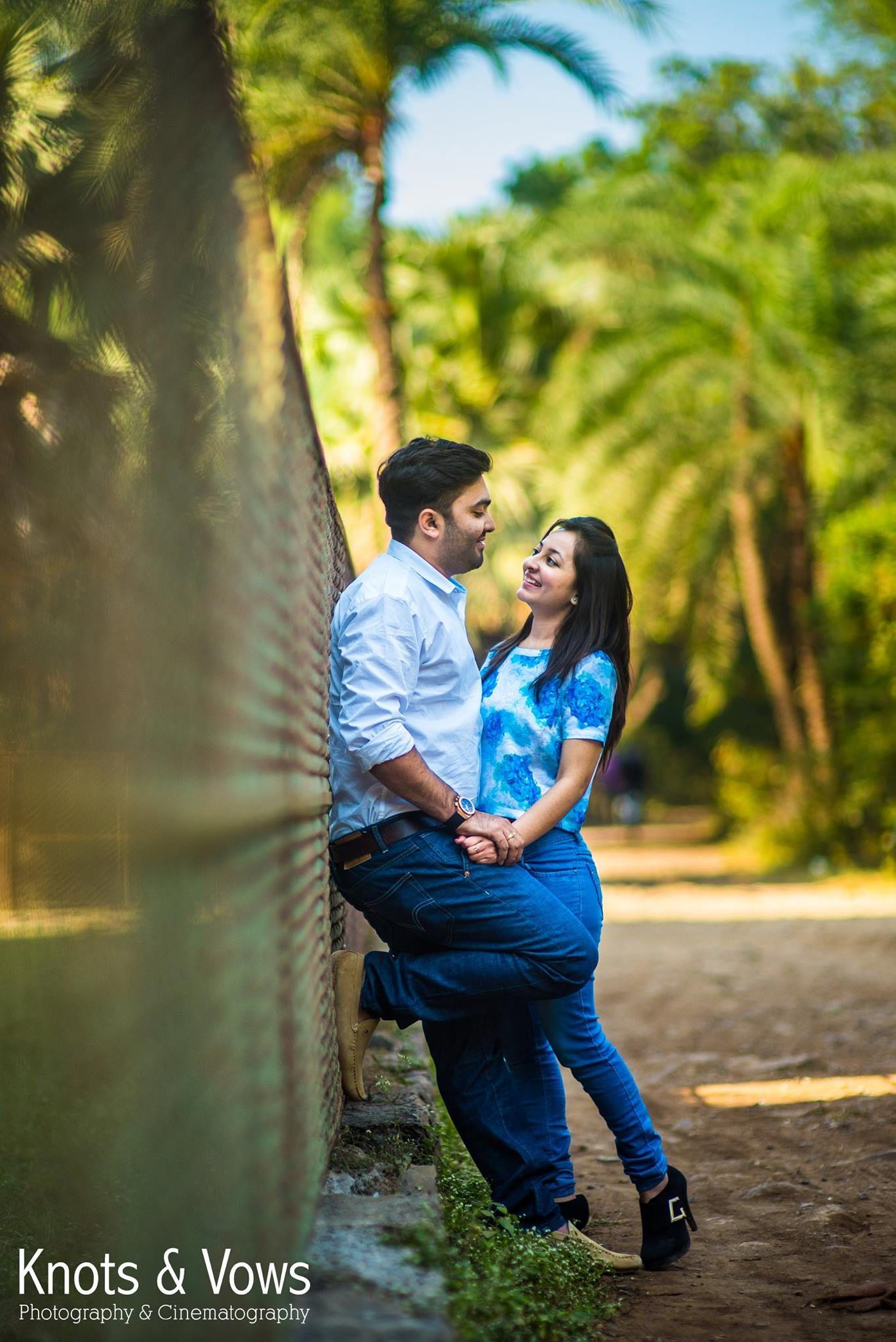 Pre-wedding shoot of Pinkesh & Karishma, Lean on me. #