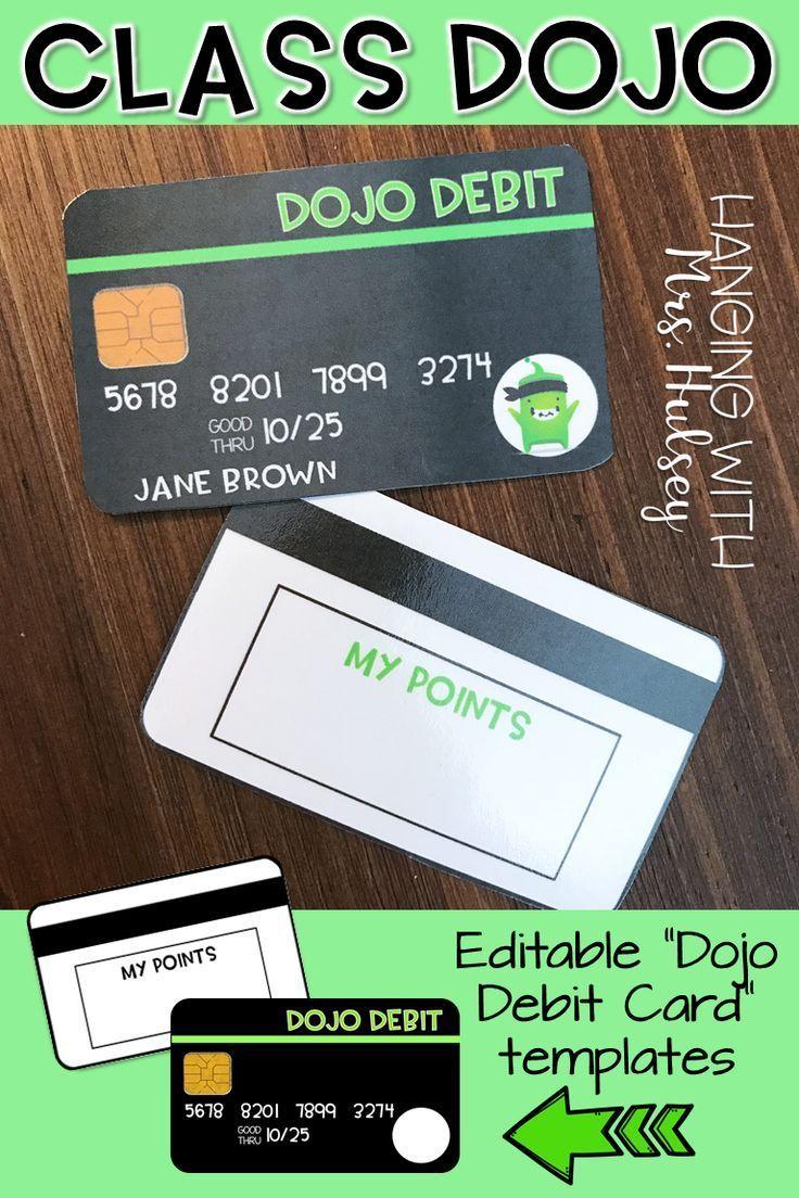 Class dojo debit cards class dojo classroom economy