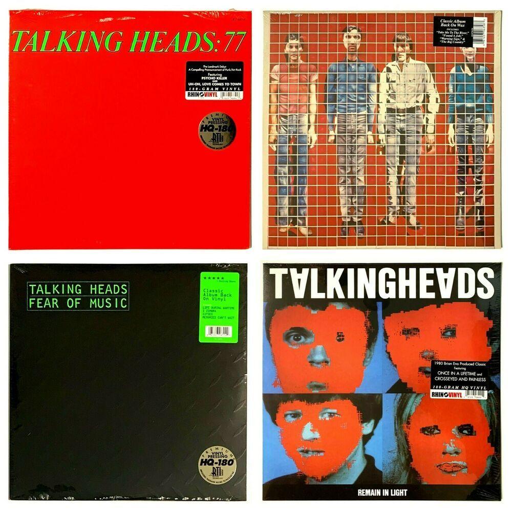 Talking Heads First Four Albums Brand New Sealed Lp Vinyl Record Lot Of 4 Ebay In 2020 Vinyl Records Talking Heads Lp Vinyl