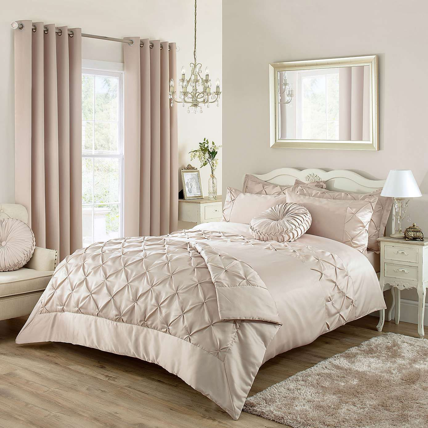 Karissa Embroidered Champagne Duvet Cover | Bed linen, Champagne and ...